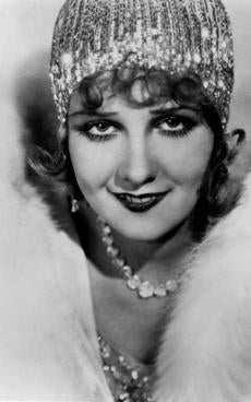 "Anita Page in ""Broadway Melody."""